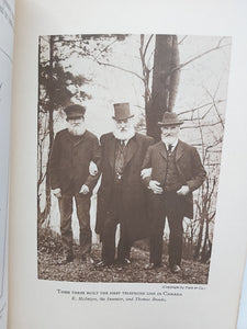 Pioneering the Telephone in Canada. Contributions to the History of the Telephone Based on Original Notes and Reminiscences Including a Hitherto Unpublished Account of the Telephone by A. Melville Bell, 1926. First Edition