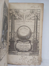 Load image into Gallery viewer, Sylva Sylvarum, or, a Natural Historie. Bound with New Atlantis, A Worke Unfinished, and Experimentall of Life and Death, or of the Prolongation of Life, 1658. Seventh Edition