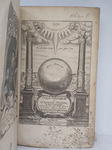 Sylva Sylvarum, or, a Natural Historie. Bound with New Atlantis, A Worke Unfinished, and Experimentall of Life and Death, or of the Prolongation of Life, 1658. Seventh Edition