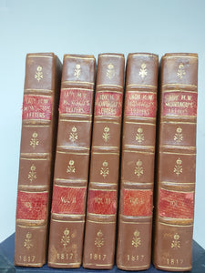 The Works of the Right Honourable Lady Mary Wortley Montagu, 1817. Sixth Edition