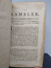 Load image into Gallery viewer, The Rambler, 1756. Fourth Edition