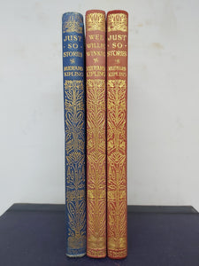 Rudyard Kipling Lot. Macmillan and Co, London