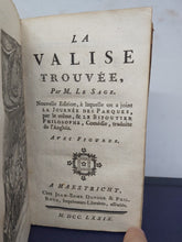Load image into Gallery viewer, La Valise Trouvee, 1779