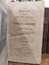 Load image into Gallery viewer, The History of the Decline and Fall of the Roman Empire, 1806