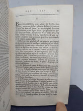 Load image into Gallery viewer, L'Agronome. Dictionnaire portatif du cultivateur, 1764