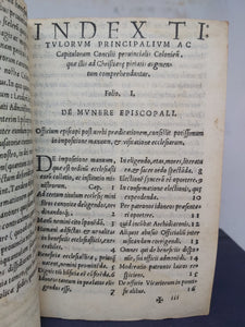 Enchiridion Christianae Institutionis In Concilio Provinciali, 1543