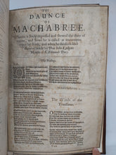Load image into Gallery viewer, The Daunce of Machabree, bound with La Grande Danse Macabre, bound with Index Des Manuscrits et Imprines Reproduits ou Cites, 1658/1850/1859