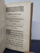 Load image into Gallery viewer, Tractatus de iure novercarum, 1658