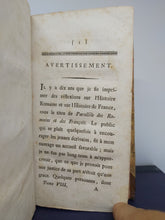 Load image into Gallery viewer, Observations sur les romains, 1789