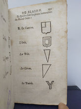 Load image into Gallery viewer, La Nouvelle Methode Raisonnee du Blason, 1696