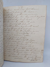 Load image into Gallery viewer, Commonplace Book of the Poems of Lord Byron and others, Including One Supposedly Unpublished, 21 May 1822