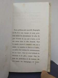Pie IX Nouvelle Biographie, 1863