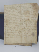 Load image into Gallery viewer, Vellum Manuscript, June 28 1624