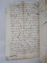 Load image into Gallery viewer, 17th Century Manuscript, June 8 1664