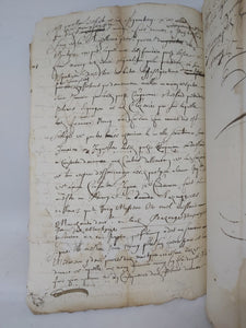 17th Century Manuscript, June 8 1664