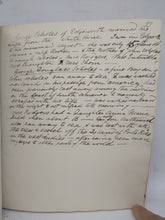 Load image into Gallery viewer, Handwritten Commonplace Book of Research for the Spencer Family, and earlier notes, June 20th, 1851