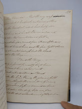 Load image into Gallery viewer, Handwritten Commonplace Book of Poetry of Barry Gorden Crealock, May 11 1820