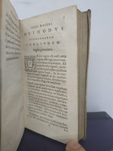 Load image into Gallery viewer, Methodus formandarum concionum inprimis, quae praxin spectant, 1653