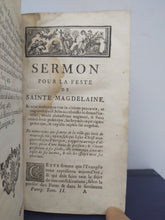 Load image into Gallery viewer, Sermons du Pere Bourdaloue, 1723
