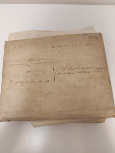 Dame Jane Trafford Southwell's settlement for the marriage of her son Sigismund Trafford, and his betrothed Margaret Crowe, 25th July 1791