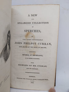 A new and enlarged collection of speeches, 1819