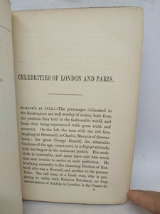 Celebrities of London and Paris, 1865