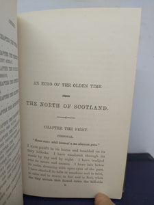 An echo of the olden time from the North of Scotland, 1874