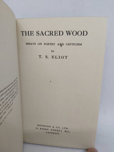 The Sacred Wood, 1920