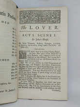 Load image into Gallery viewer, The lover. A Comedy: as it is acted at the Theatre-Royal, 1730