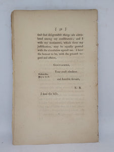 Two letters from Mr. Burke to gentlemen in the city of Bristol: on the trade of Ireland, 1778