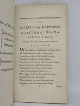 Load image into Gallery viewer, The search after happiness: a pastoral drama, 1775