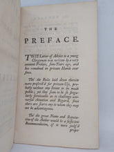 Load image into Gallery viewer, Advice to a young clergyman: how to conduct himself in the common offices of life, 1741