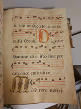Load image into Gallery viewer, Prayer book on vellum of the diurnal offices, as well as the hymnal for the use of the choir, for the Holy Mother Santa Clara of Briviesca, 1764
