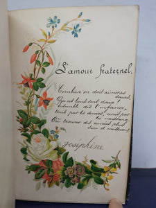 A French Friendship Album for Pauline, 1884