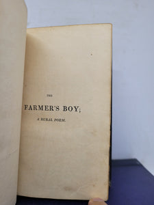 The Farmers Boy; bound with Rural Tales, Ballads and Songs; bound with Wild Flowers; or, Pastoral and Local Poetry, 1801(?)/1809/1806