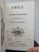 Load image into Gallery viewer, Emile, ou le Jeune Agriculteu, 19th Century