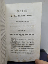 Load image into Gallery viewer, Contes a Ma Petite Fille, 1847