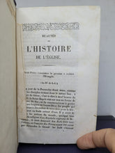 Load image into Gallery viewer, Beautes de l'histoire de l'eglise, 19th Century. Tome I