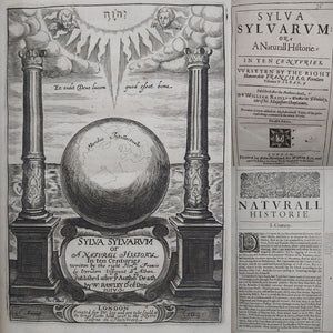 Sylva Sylvarum: or, a natural historie. Bound with New Atlantis, A Worke Unfinished, 1639