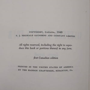 1984, printed 1949, Canadian First Edition.