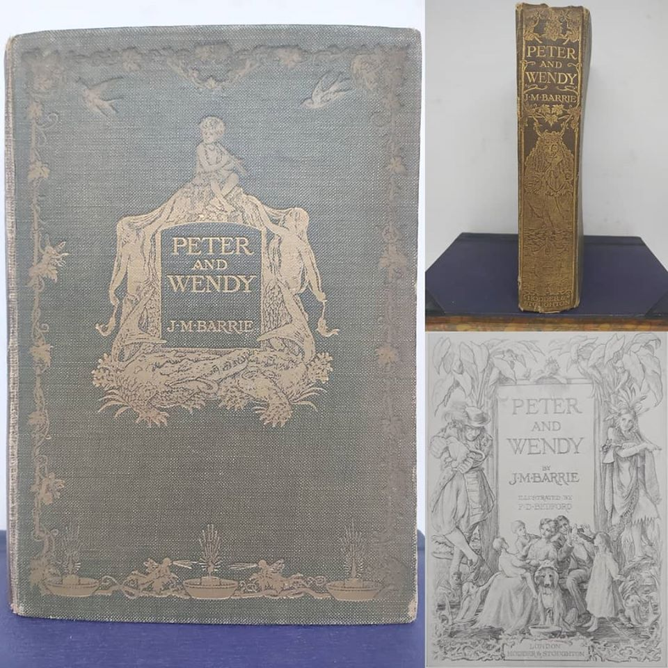 Peter and Wendy, 1911. First UK Edition, True First