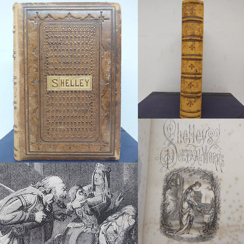 The Poetical Works of Percy Bysshe Shelley, 19th century