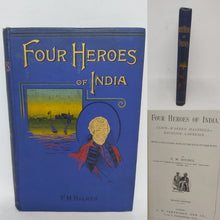 Load image into Gallery viewer, Four Heroes of India, Late 19th Century