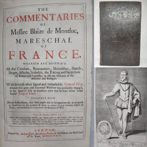 The Commentaries of Messire Blaize de Montluc, 1674