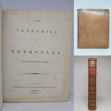 Load image into Gallery viewer, The Tragedies of Sophocles, 1788