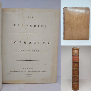 The Tragedies of Sophocles, 1788