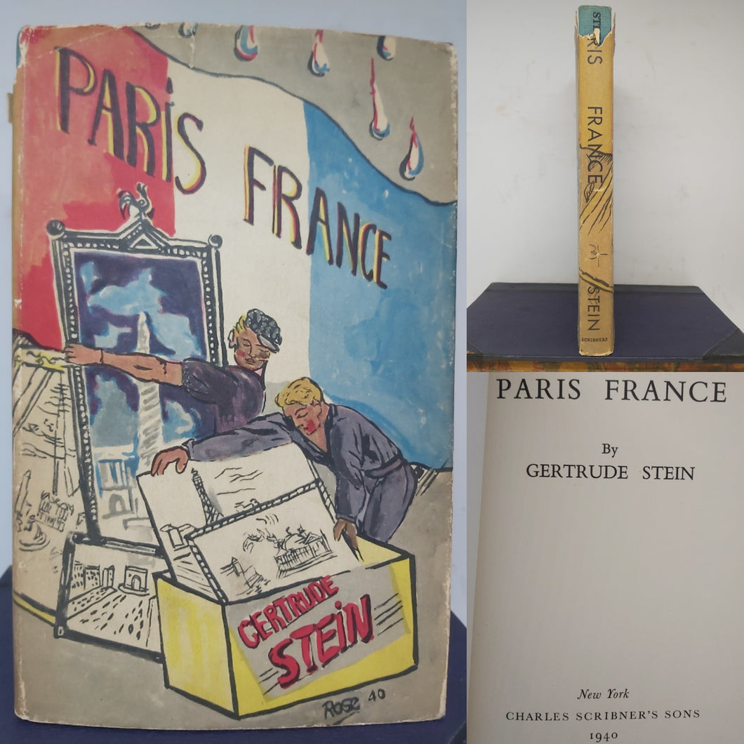 Paris France, 1940. 1st US Edition