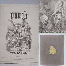 Load image into Gallery viewer, Punch Volume LXXXI, 1881