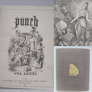 Punch Volume LXXXI, 1881