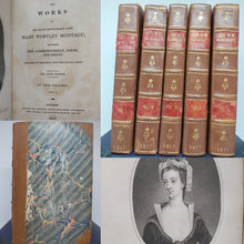 Load image into Gallery viewer, The Works of the Right Honourable Lady Mary Wortley Montagu, 1817. Sixth Edition
